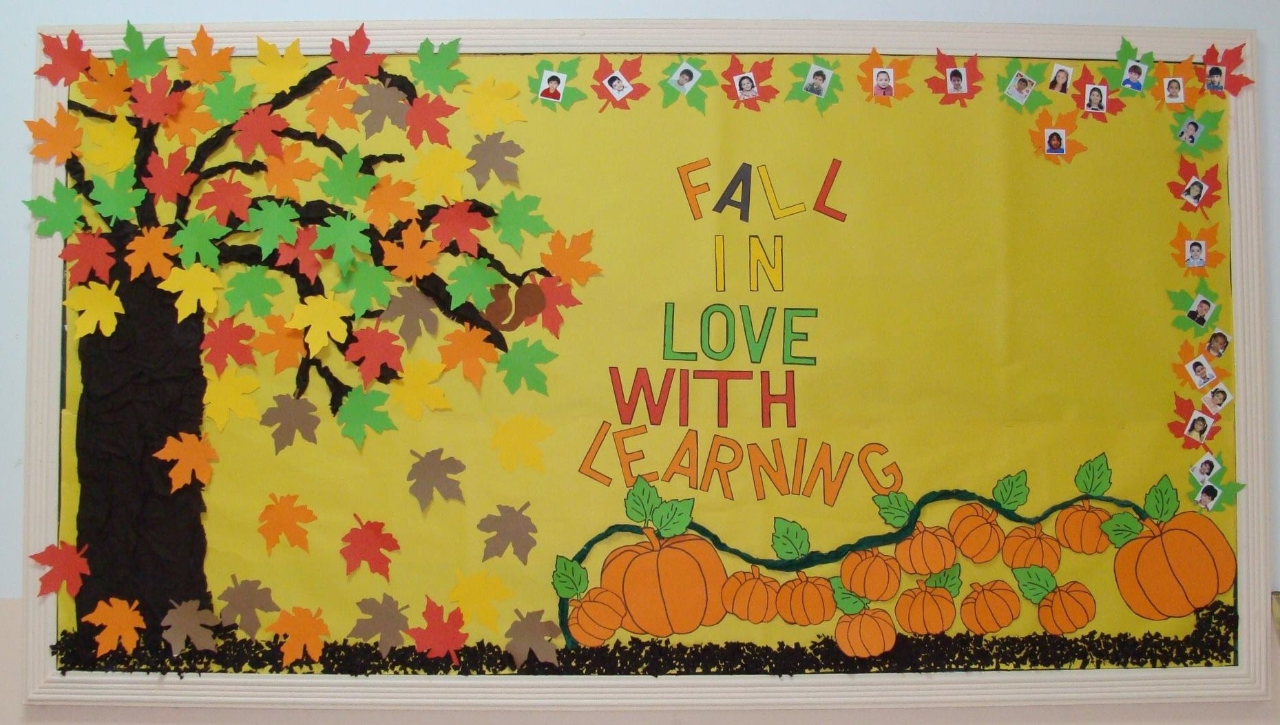 10 Unique Bulletin Board Ideas For Fall fall in love with learning fall bulletin board idea supplyme 2020