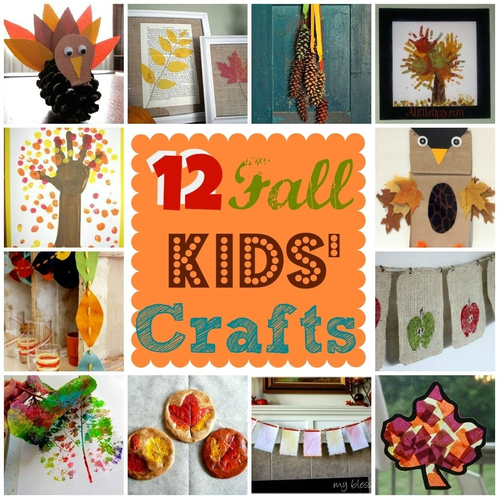 10 Fantastic Fall Craft Ideas For Kids fall kids crafts 2020