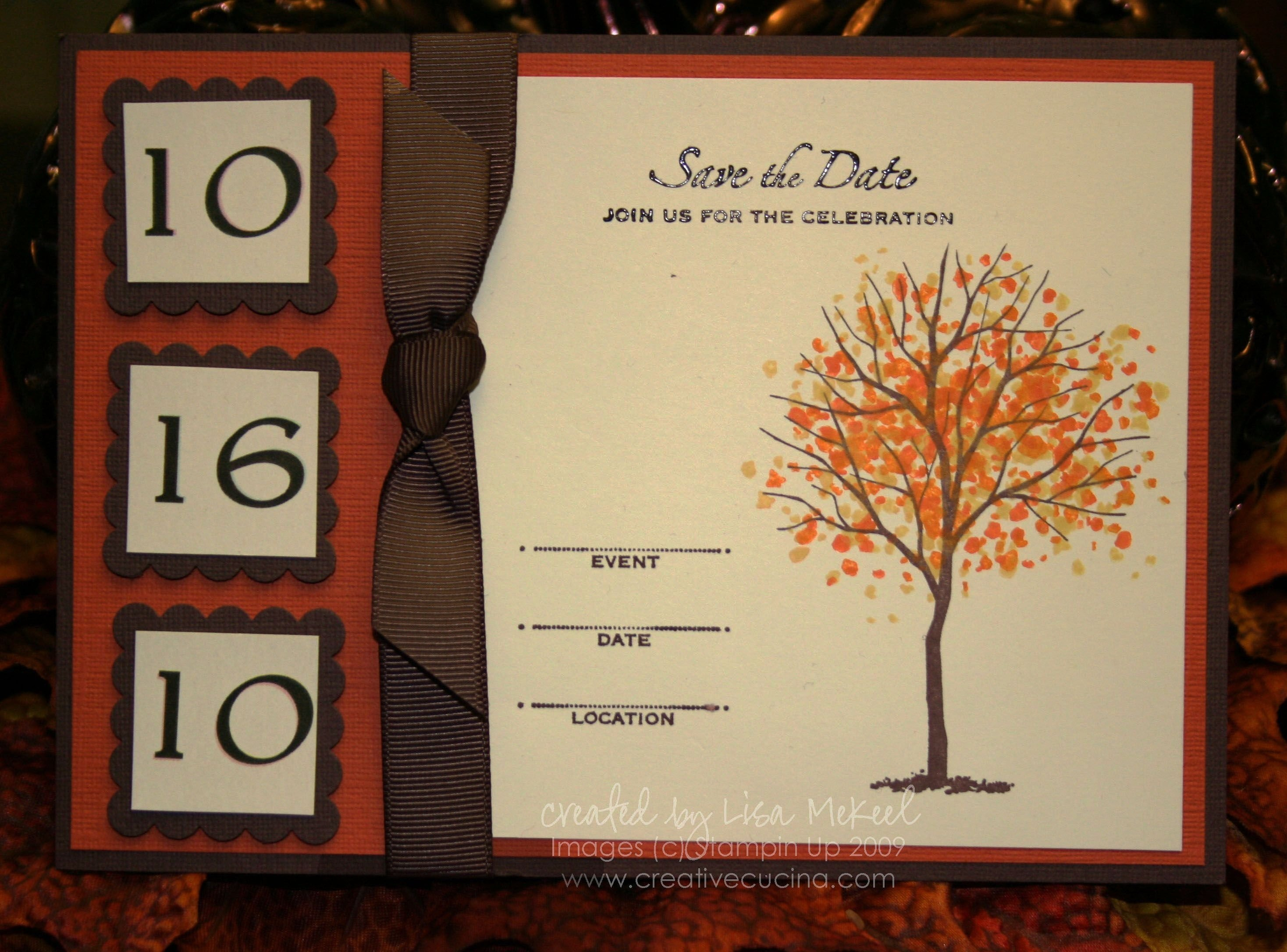 10 Attractive Creative Save The Date Ideas fall leaf pocket wedding invitations fall autumn wedding save the 1 2020