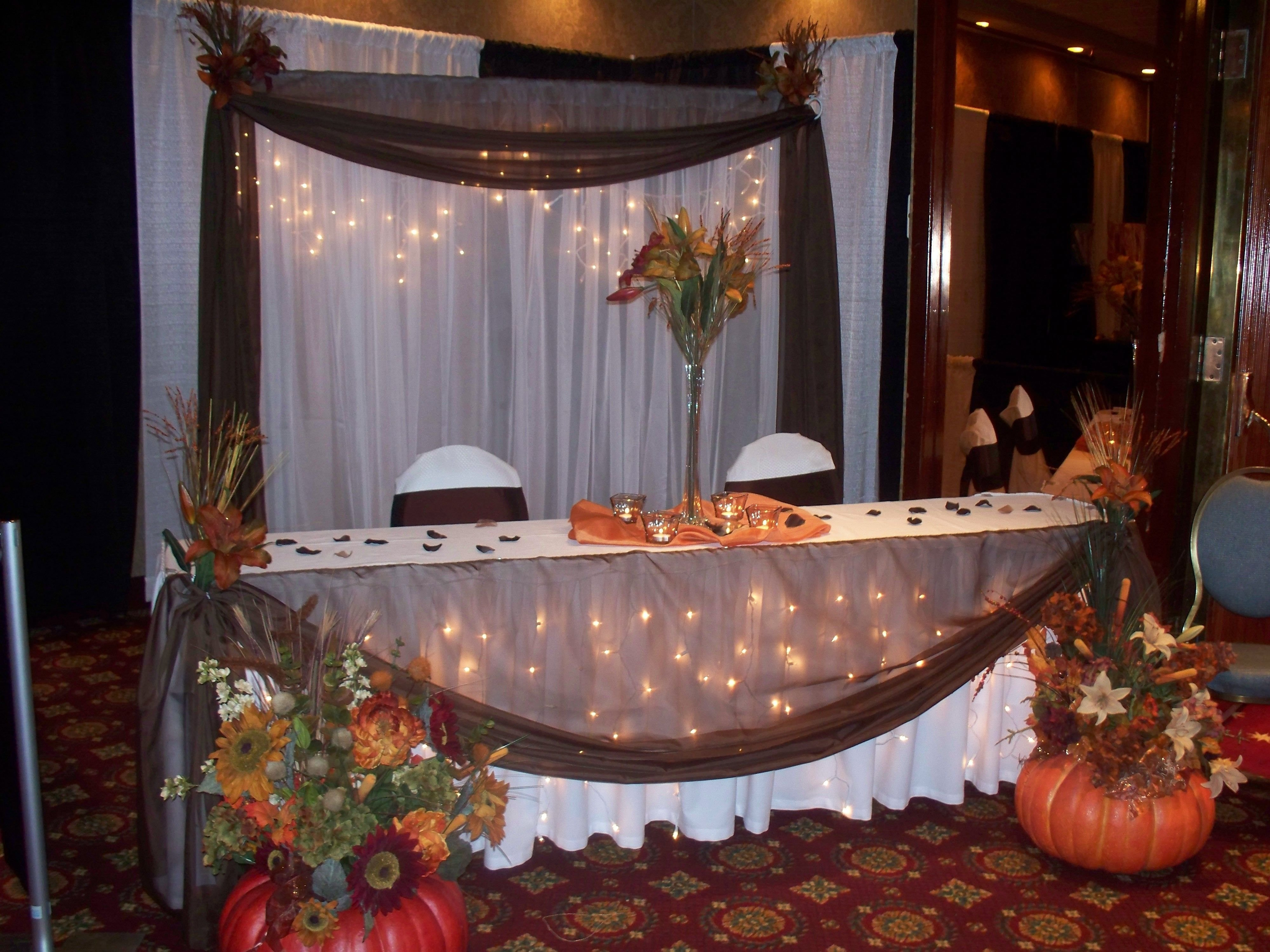 10 Wonderful Wedding Theme Ideas For Fall fall wedding centerpieces on a budget autumn wedding decor 300x225 2 2020