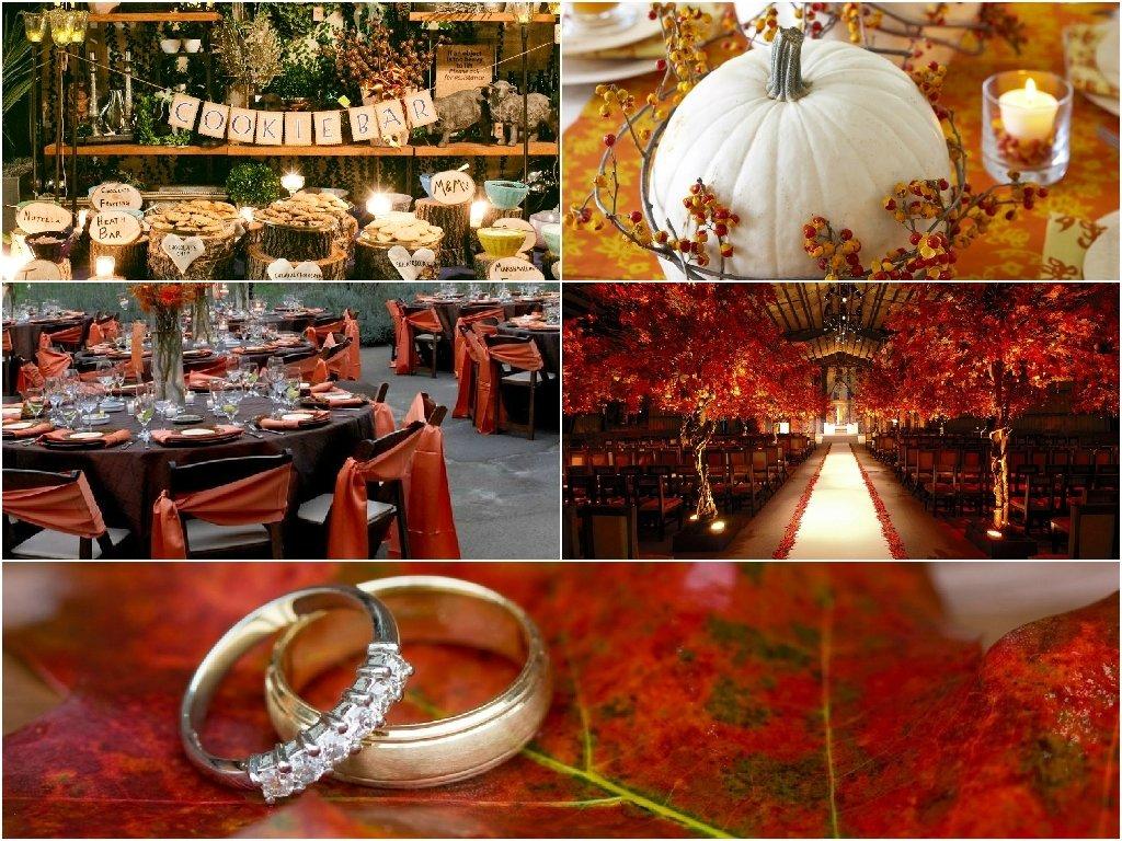10 Wonderful Wedding Theme Ideas For Fall fall wedding 2020