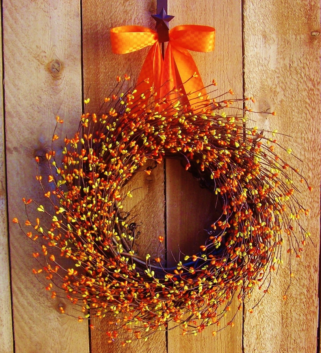fall wreath-fall home decor-fall front door wreath-fall door wreath