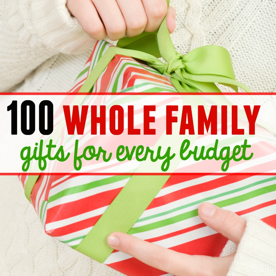 10 Ideal Whole Family Christmas Gift Ideas family christmas gift ideas fun for christmas 2 2020