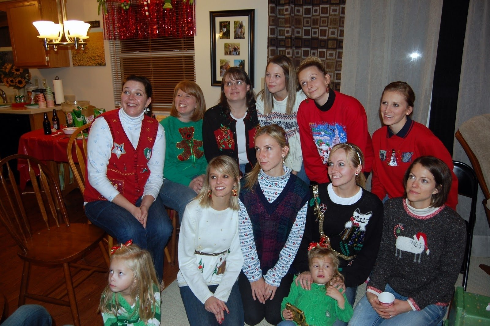 family ever after.: {ugly christmas sweater party} ideas