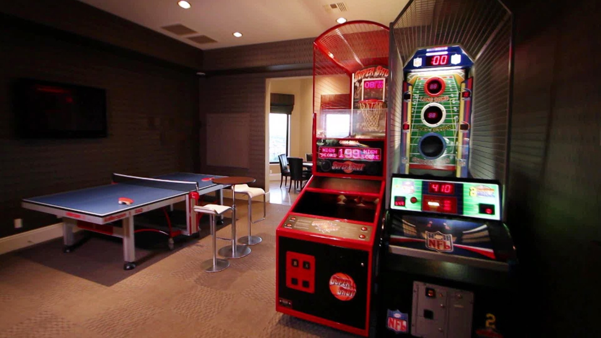 10 Gorgeous Game Room Ideas For Adults family friendly game room ideas hgtv 1