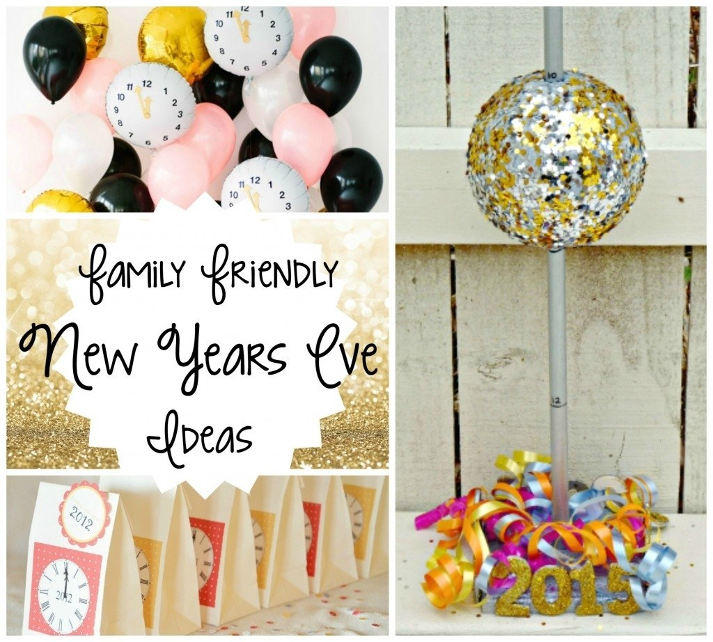 10 Unique Family Friendly New Years Eve Party Ideas family friendly new years eve ideas amy latta creations 4 2020