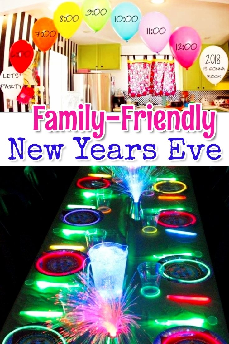 10 Unique Family Friendly New Years Eve Party Ideas