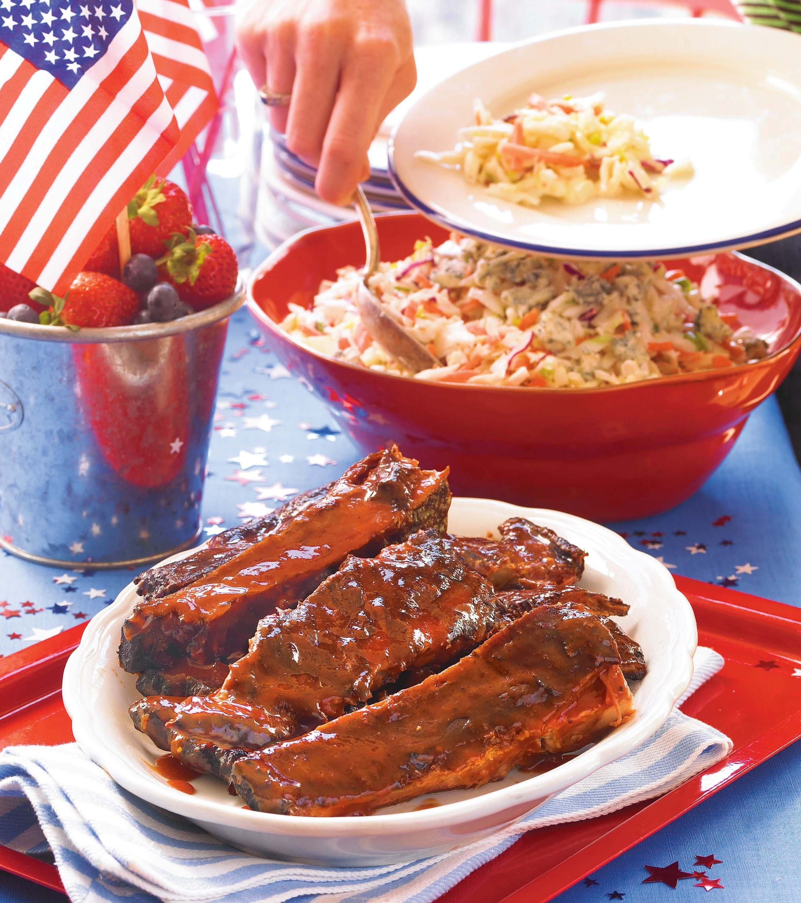 family fun july 4 ideas | 4th of july recipe ideas from the half