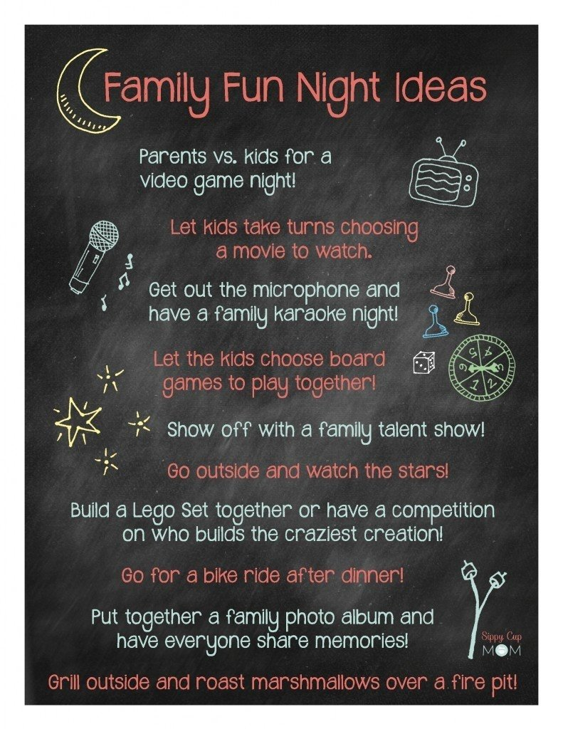 10 Attractive Ideas For Family Game Night family fun night ideas with jacks pizza family night 2021