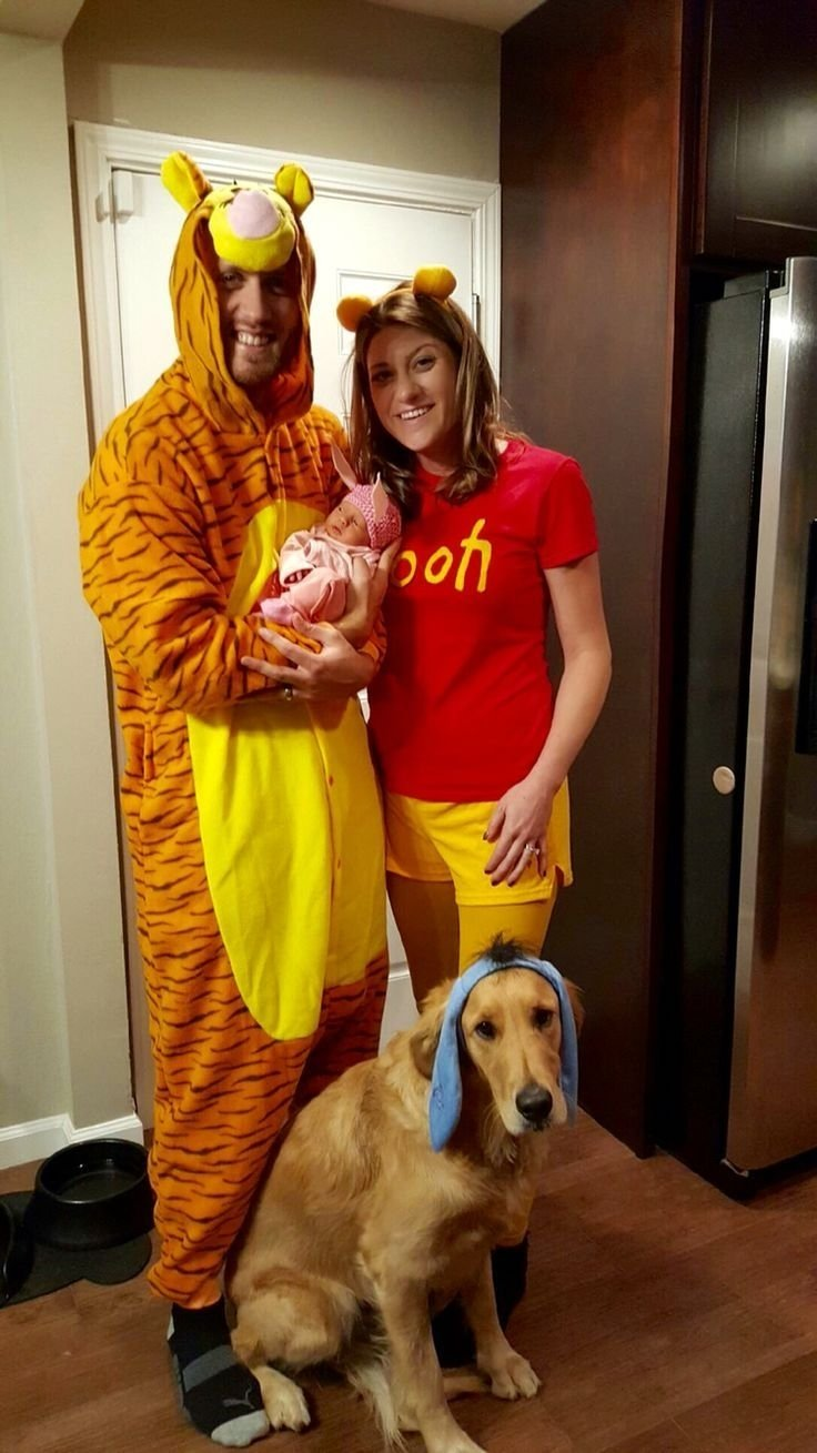 10 Most Popular Family Costume Ideas With A Baby Halloween Newborn