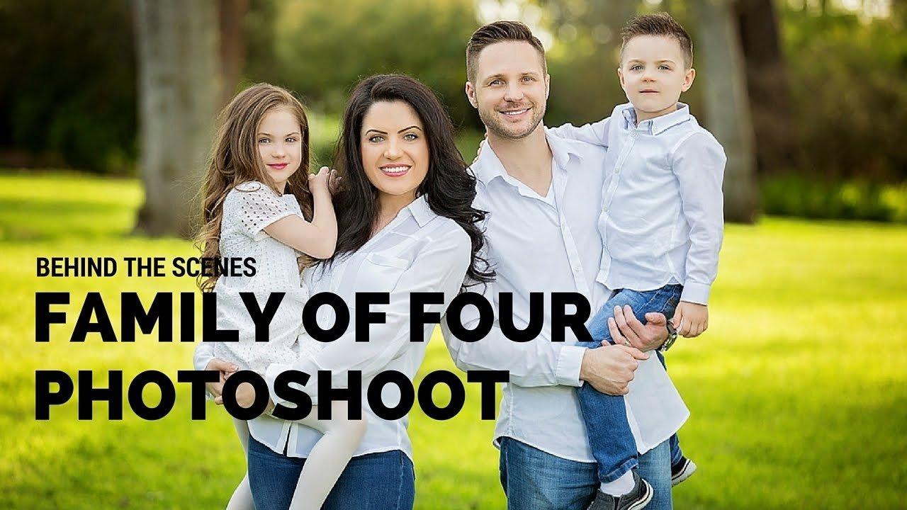 10 Awesome Family Of Four Photo Ideas family of four photo session posing ideas bts with sacramento 1 2021