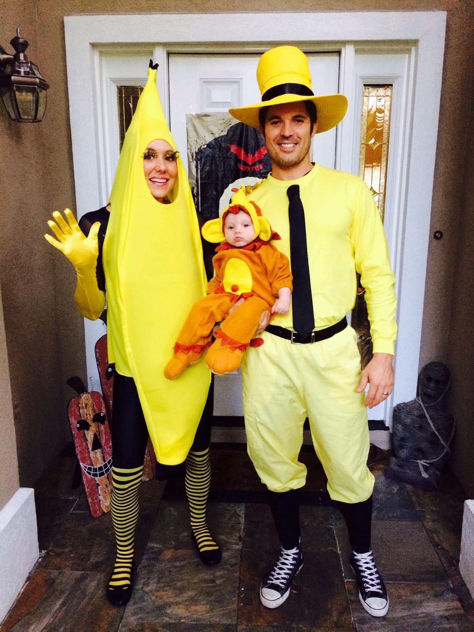 10 Gorgeous Family Of Three Halloween Costume Ideas family of three halloween costume idea curious george inspiration 1 2020