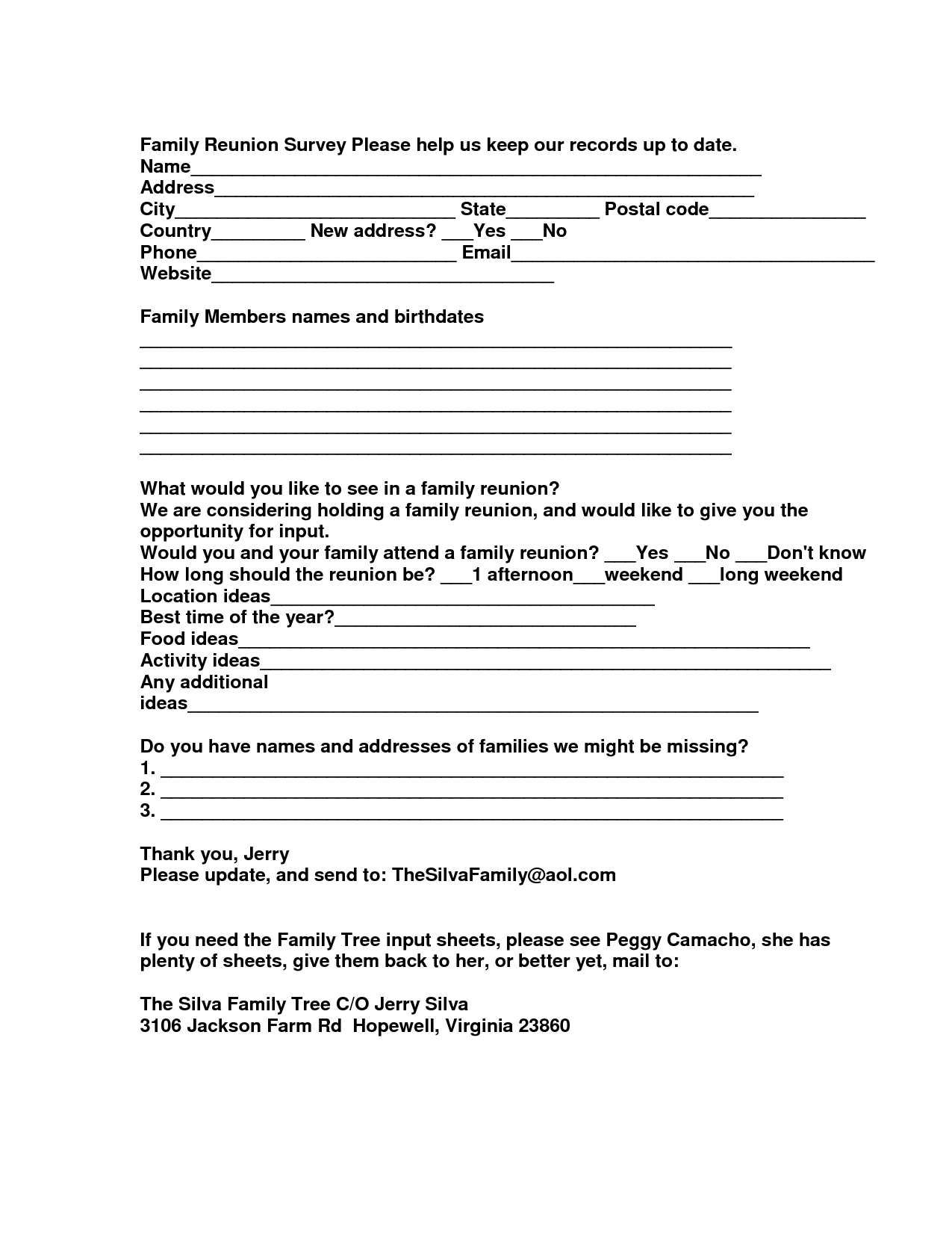 10 Fantastic African American Family Reunion Ideas family reunion food ideas family reunion survey please help us 2021