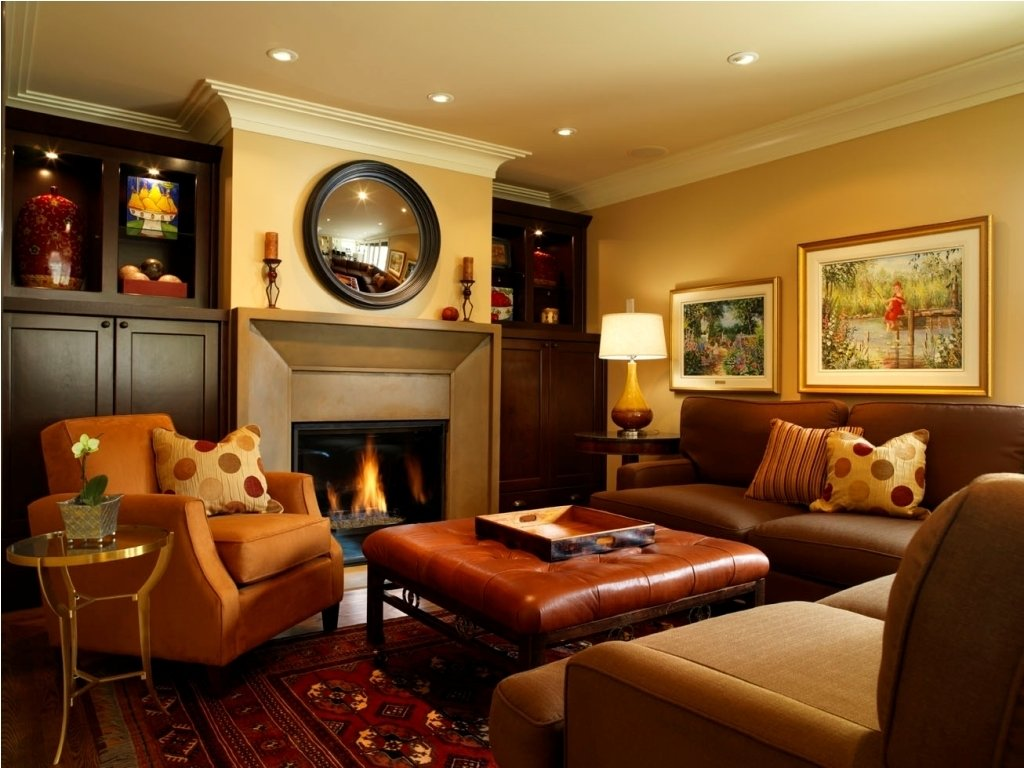 10 Awesome Family Room Paint Color Ideas