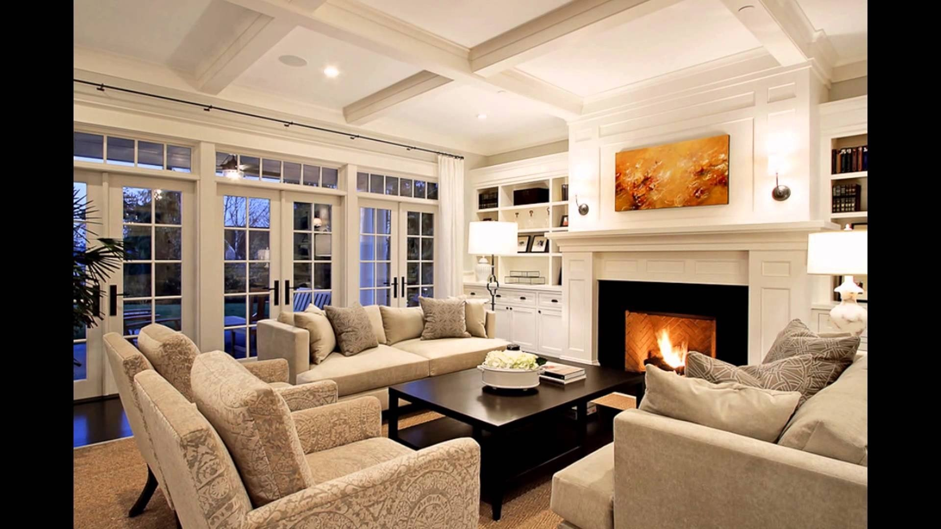 10 Trendy Family Room Ideas With Tv family rooms with fireplaces tv stone corner brick decorating ideas