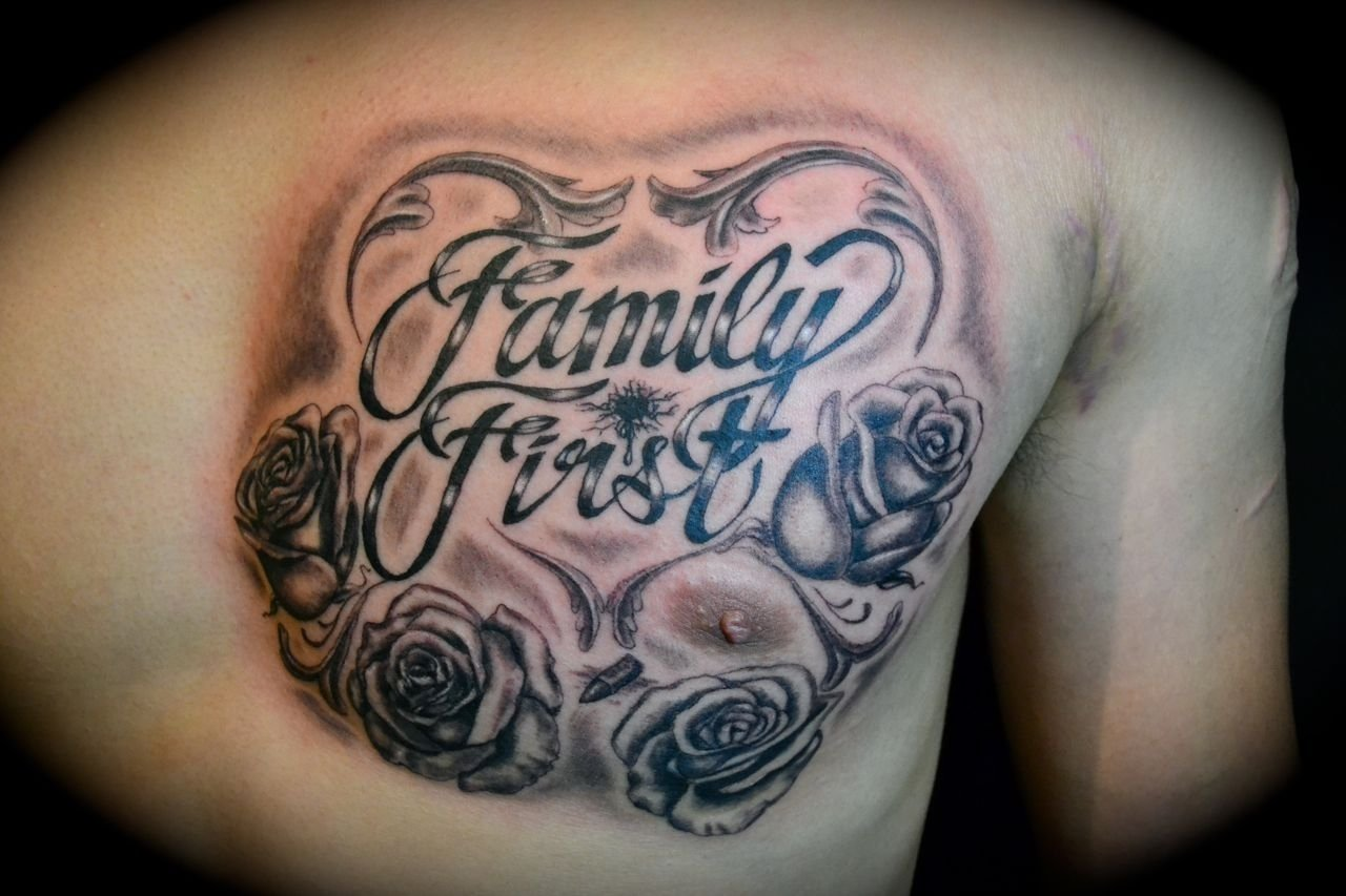 10 Attractive Good First Tattoo Ideas For Guys family tattoo ideas for men 19 2011 in black gray tattoos new 2020