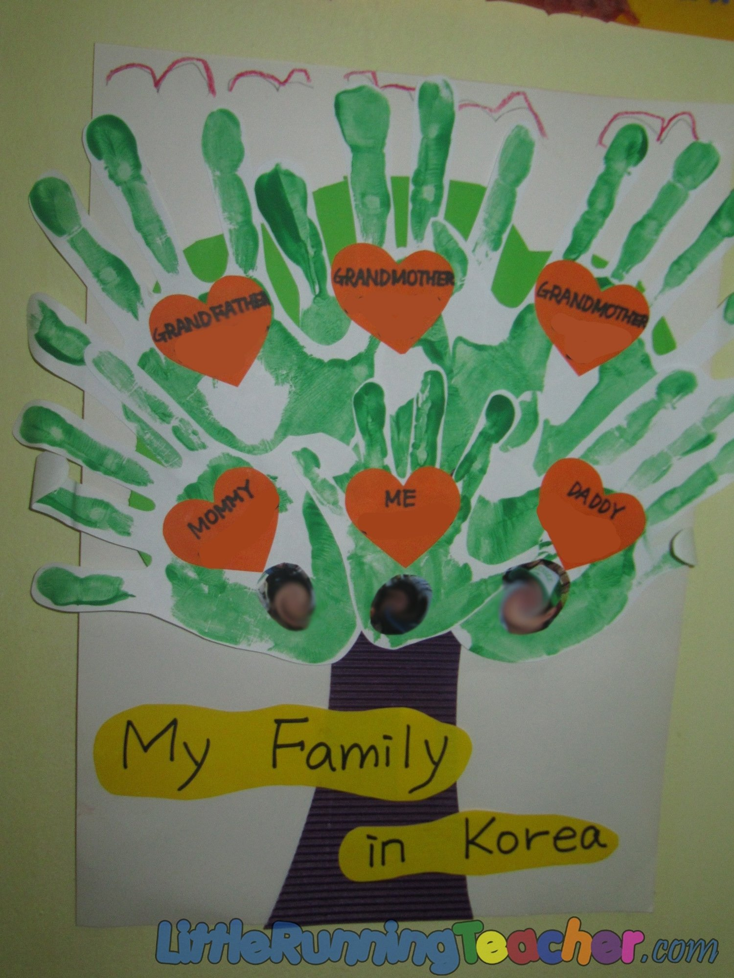 10 Stunning Family Tree Ideas For Kids family tree in preschool little running teacher 2