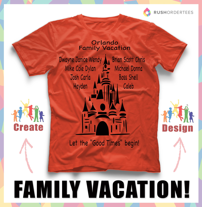 10 Fabulous Family Vacation T Shirt Ideas family vacation custom t shirt design ideas create awes on family 2021