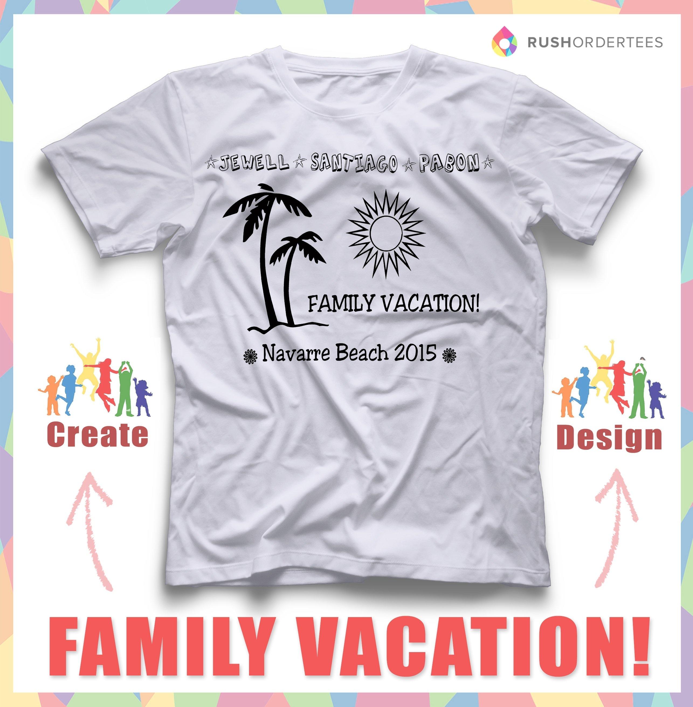 10 Fabulous Family Vacation T Shirt Ideas family vacation custom t shirt design ideas create you on custom 2021