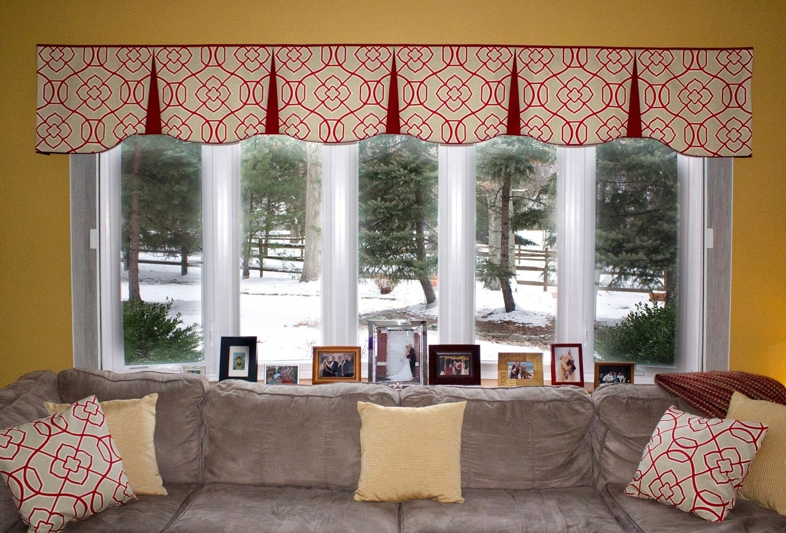 10 Stylish Valance Ideas For Large Windows fancy curtains for living room contemporary window valances family 2020