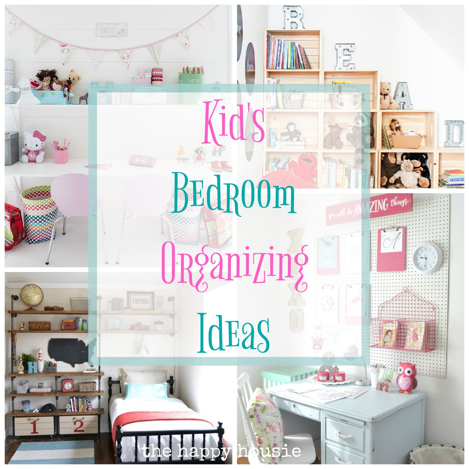 10 Fabulous Organizing Ideas For Kids Rooms fantastic ideas for organizing kids bedrooms the happy housie 2021