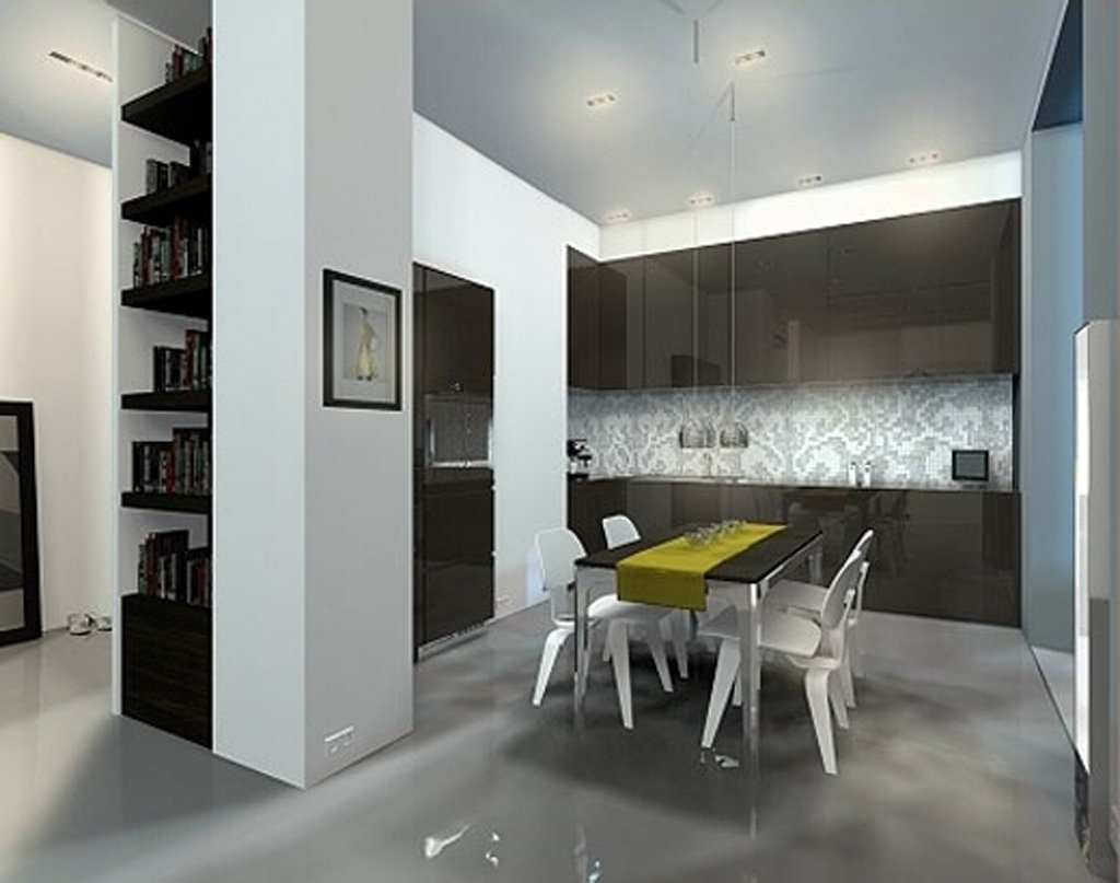 10 Nice Space Saving Ideas For Small Kitchens fantastic space saving kitchen interior decosee 2020