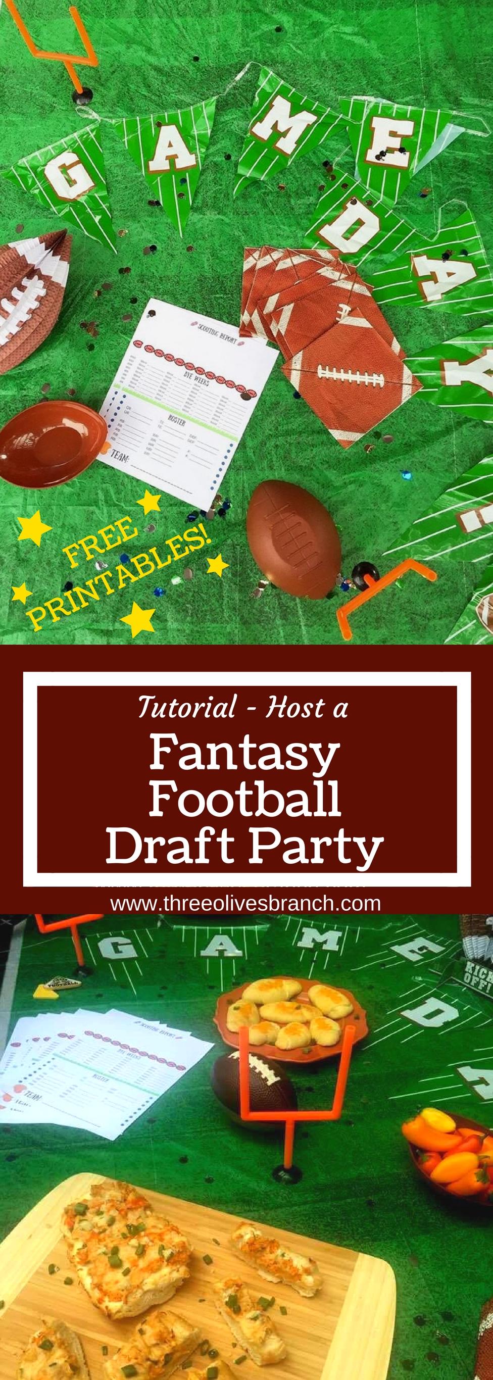 10 Elegant Fantasy Football Draft Party Ideas fantasy football draft party three olives branch 2020