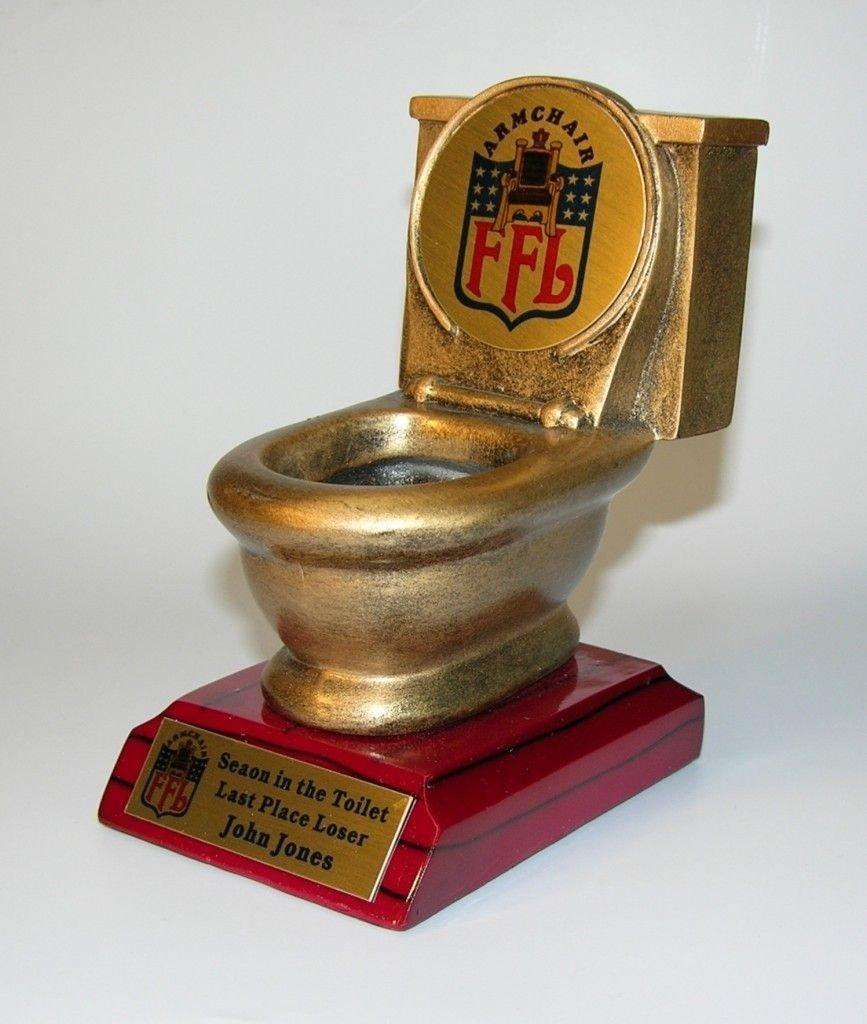10 Most Popular Last Place Fantasy Football Ideas fantasy football trophies seaon in the crapper fantasy football 2020