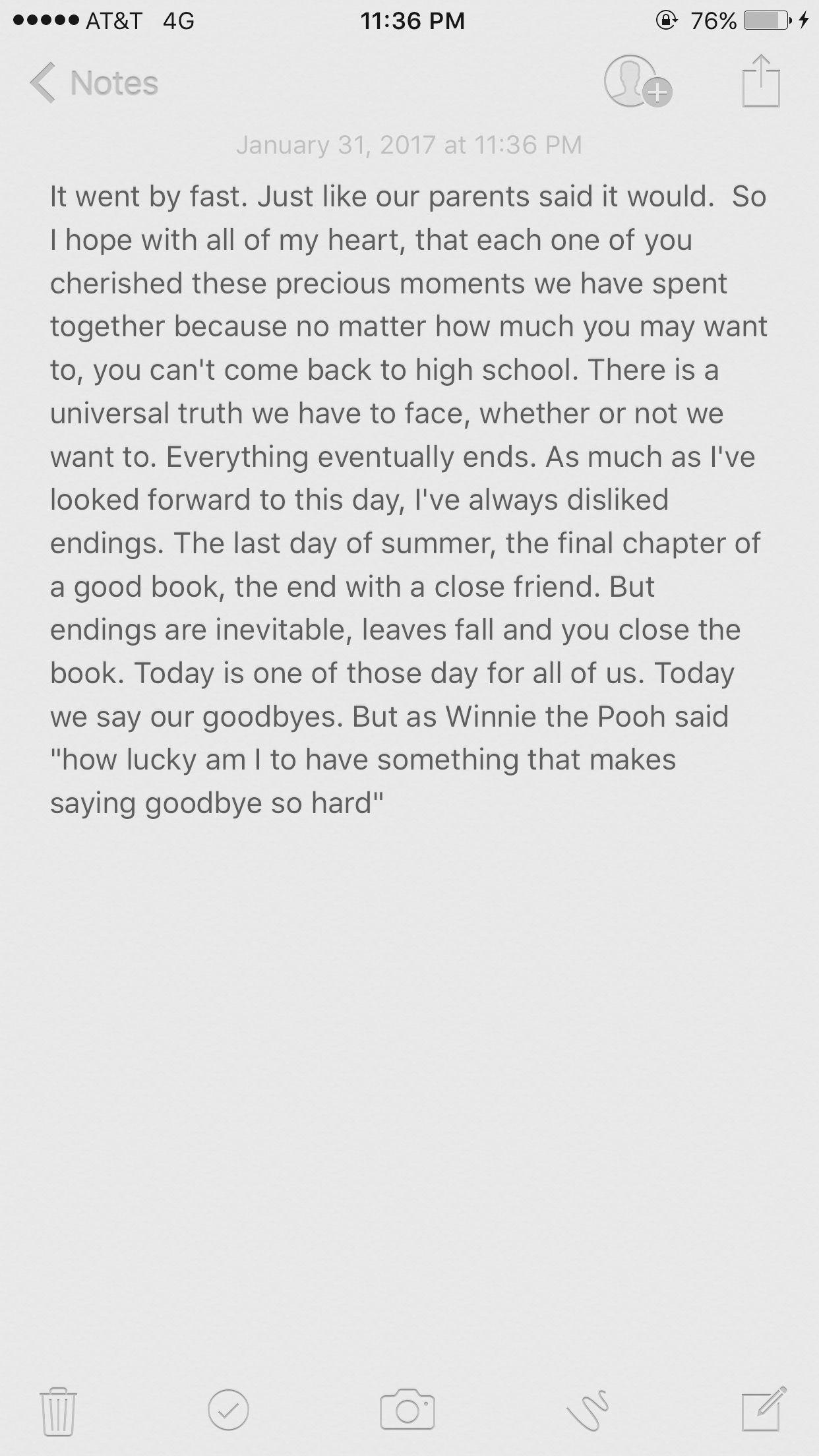 10 Stylish Middle School Graduation Speech Ideas farewell high school speech taylor wilson senior year 19 2 2021