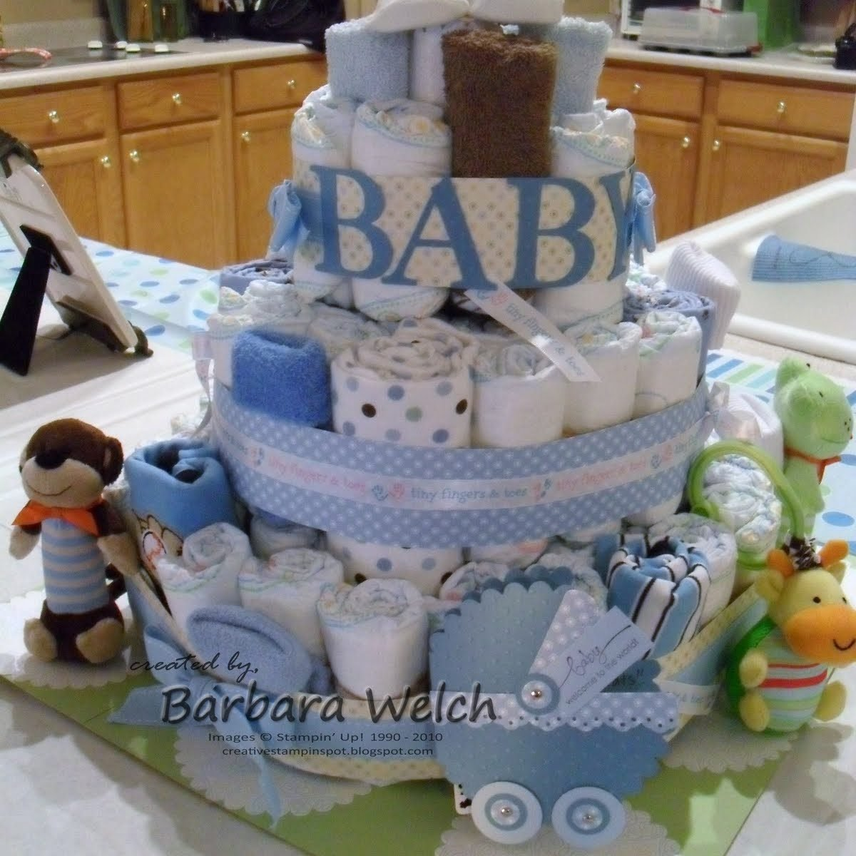 10 Cute Diaper Cake Ideas For Baby Boy fascinating baby shower diaper cake ideas boy 1st made interesting