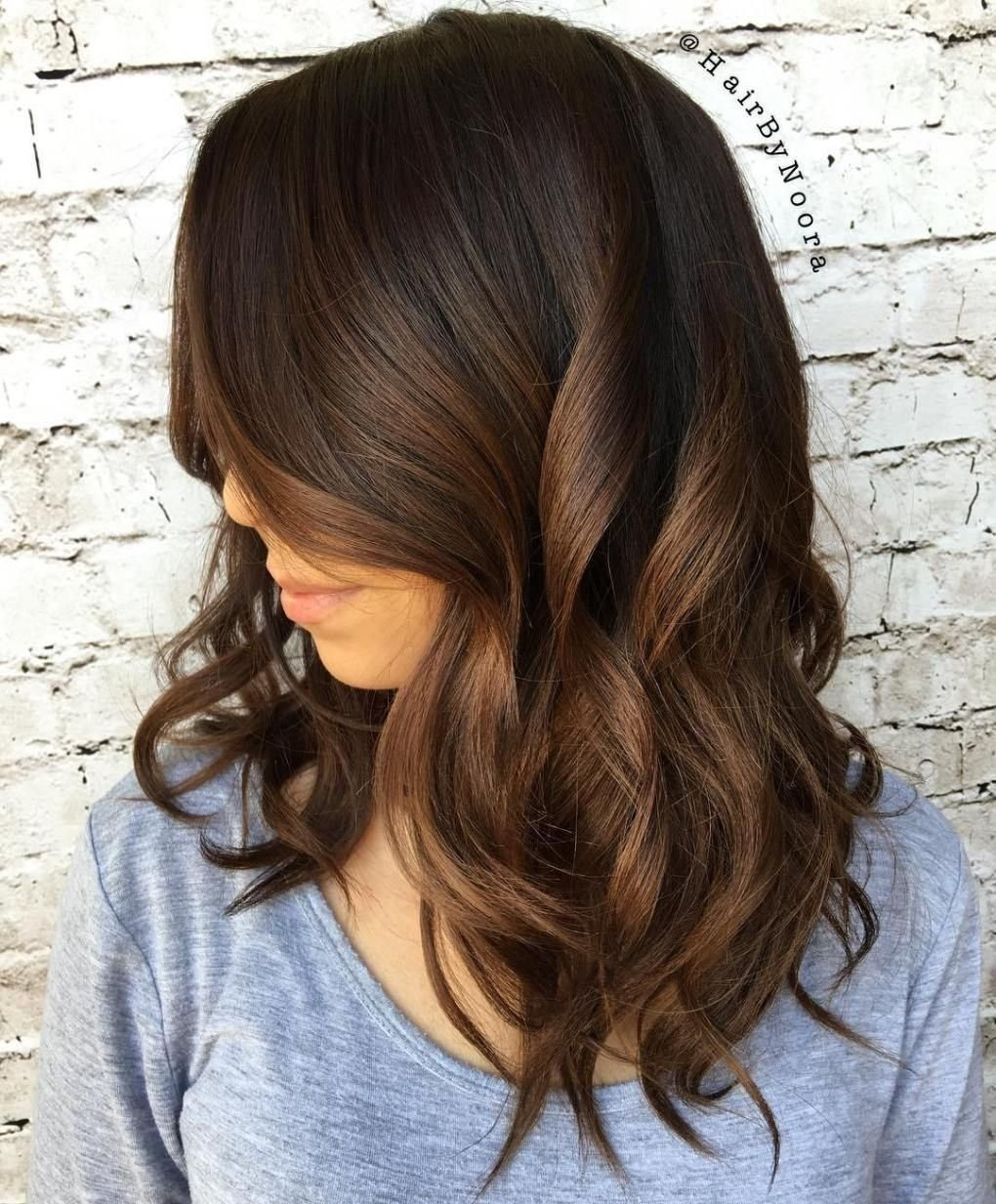 10 Stunning Hair Color Ideas For Brunettes fascinating chocolate brown hair color ideas for brunette ombre pict