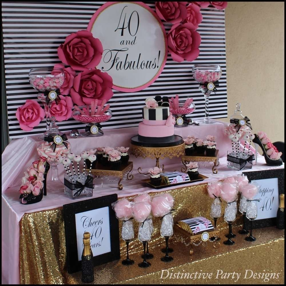 10 Nice Ideas For A 70Th Birthday Party fashion birthday party ideas birthday party ideas birthdays and 2021