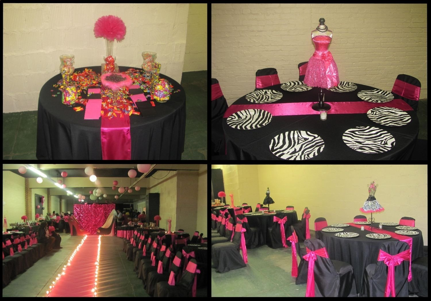 fashion theme party   above are the two pieces i designed for the