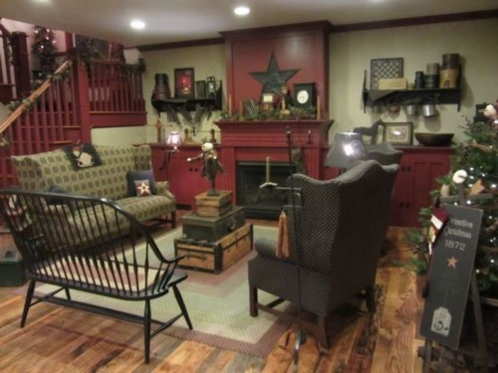 10 Nice Primitive Decorating Ideas For Living Room fashionable design ideas 19 primitive living room country 2021
