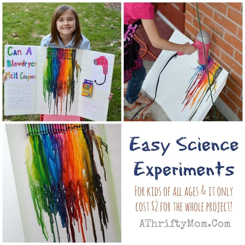 10 Pretty Science Fair Ideas For Kids fast and easy science fair experiments for kids of all ages easy 2020