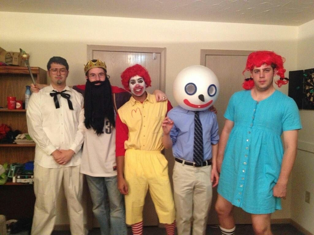 10 Trendy Group Of 4 Halloween Costume Ideas fast food giants cheap halloween group costumes popsugar smart 16 2020
