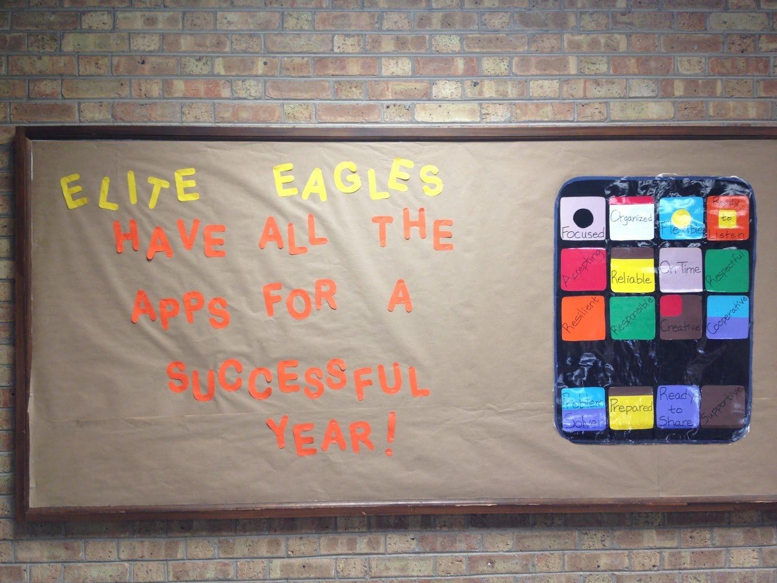10 Lovable Bulletin Board Ideas Middle School fast times of a middle school math teacher pbis bulletin boards 2 2020