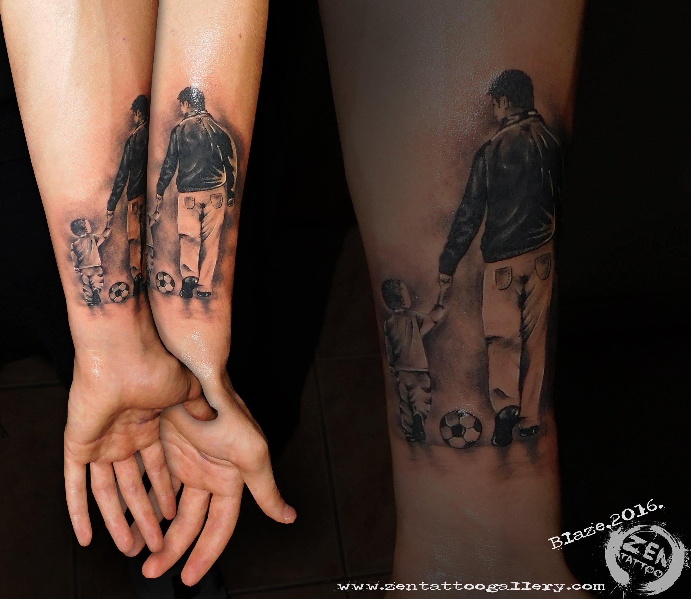 10 Best Son Tattoo Ideas For Dad father and son tattooblaze www facebook zentattoozagreb www