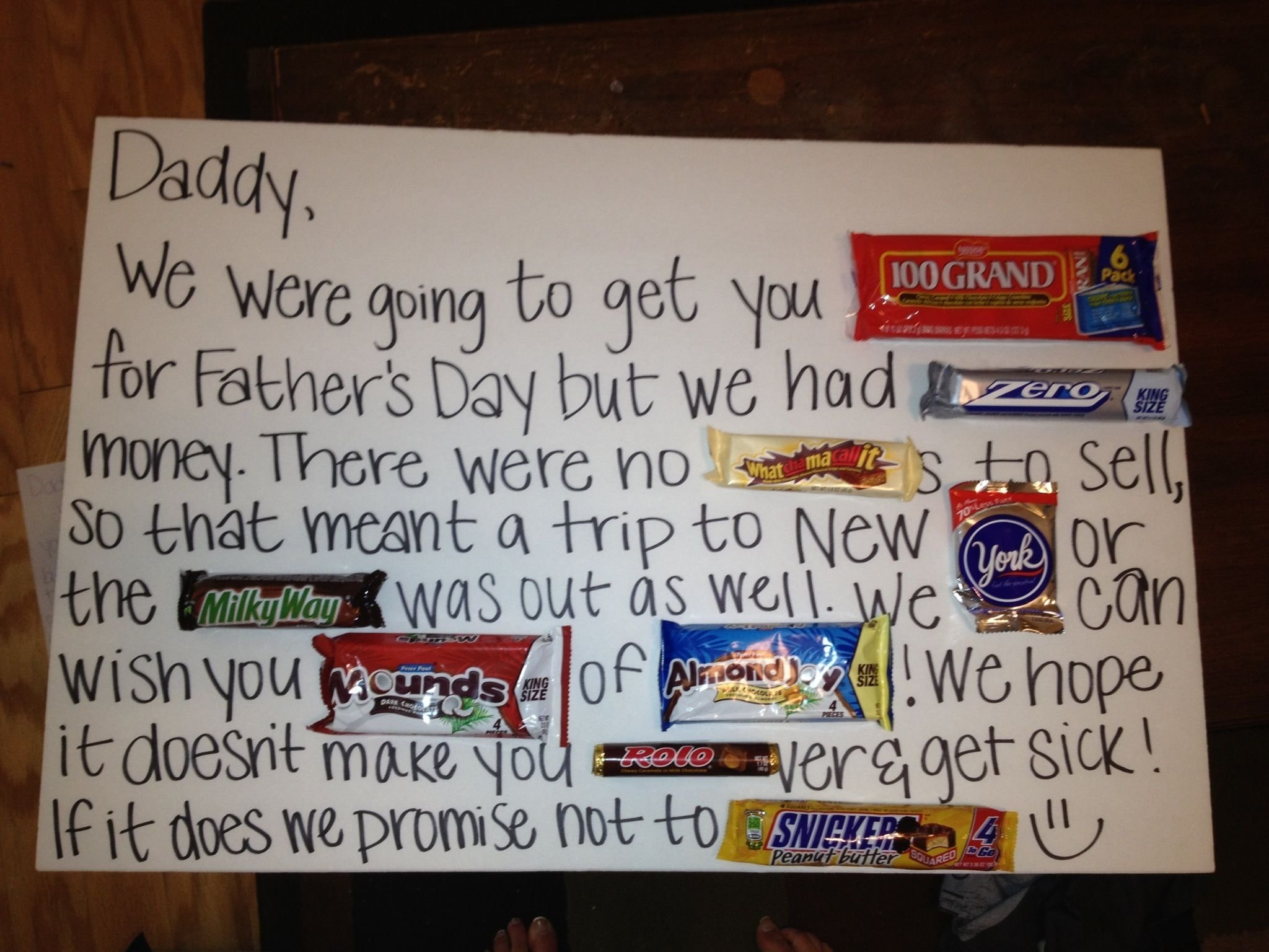 10 Elegant Cool Fathers Day Gift Ideas fathers day candy card so much room for activities pinterest 2020