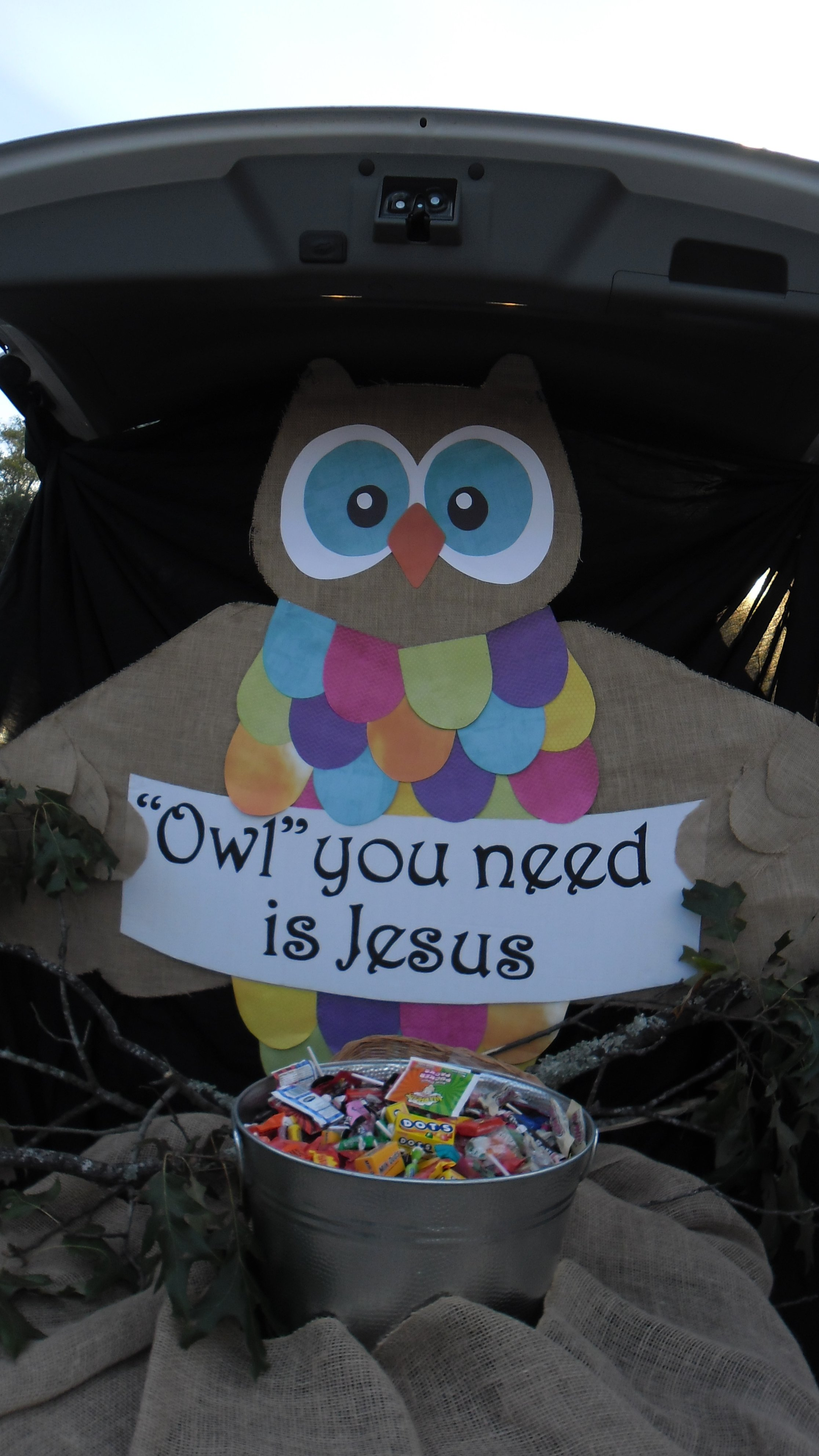 10 Perfect Easy Trunk Or Treat Decorating Ideas fbc tallulah la fall carnival trunk or treat owl you need is 5 2020