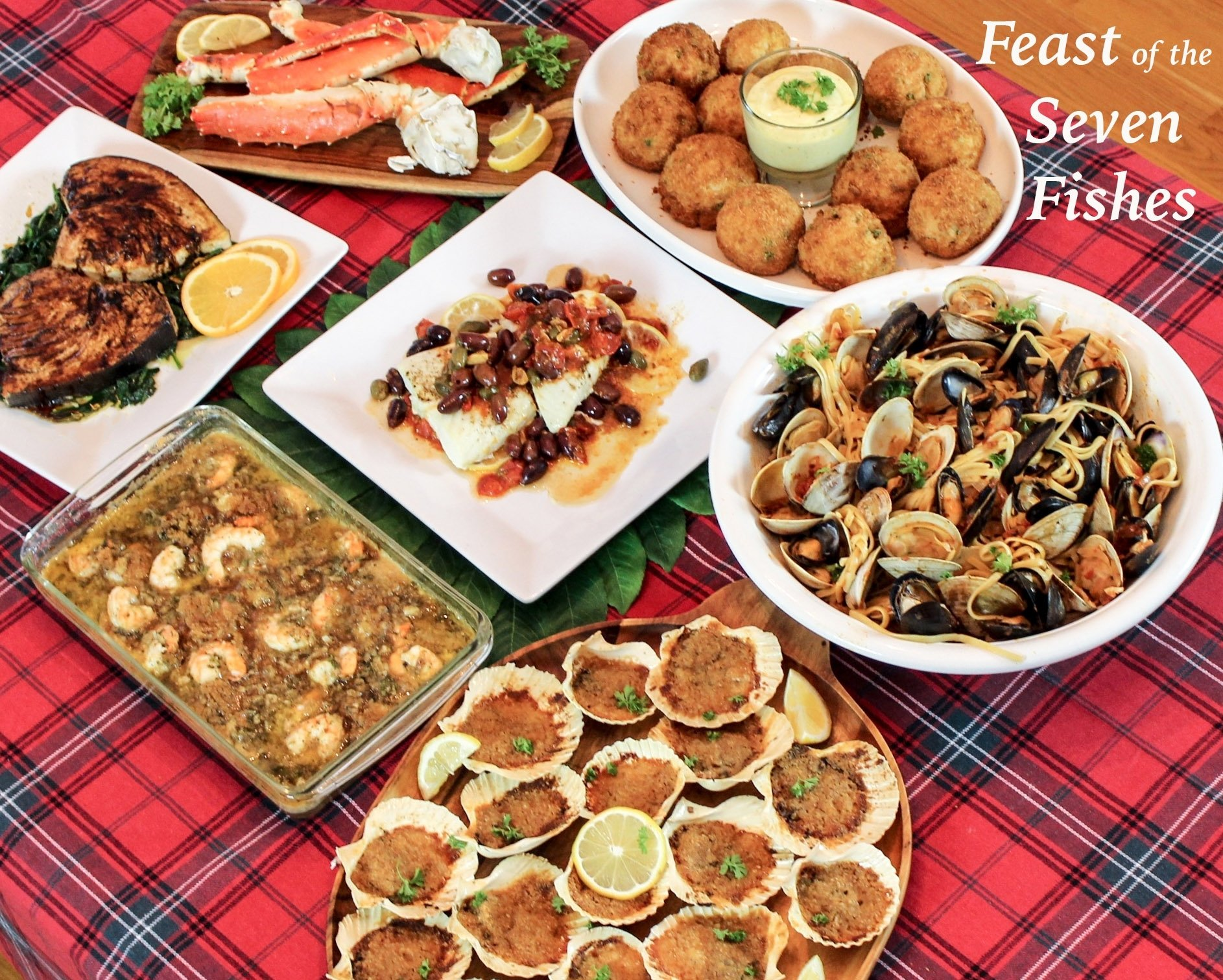 feast of the seven fishes: a sicilian christmas eve dinner
