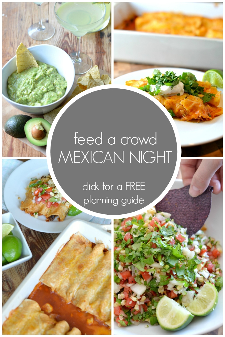 10 Trendy Lunch Ideas For A Crowd feed a crowd mexican night menu and free planning guide mexican 2020