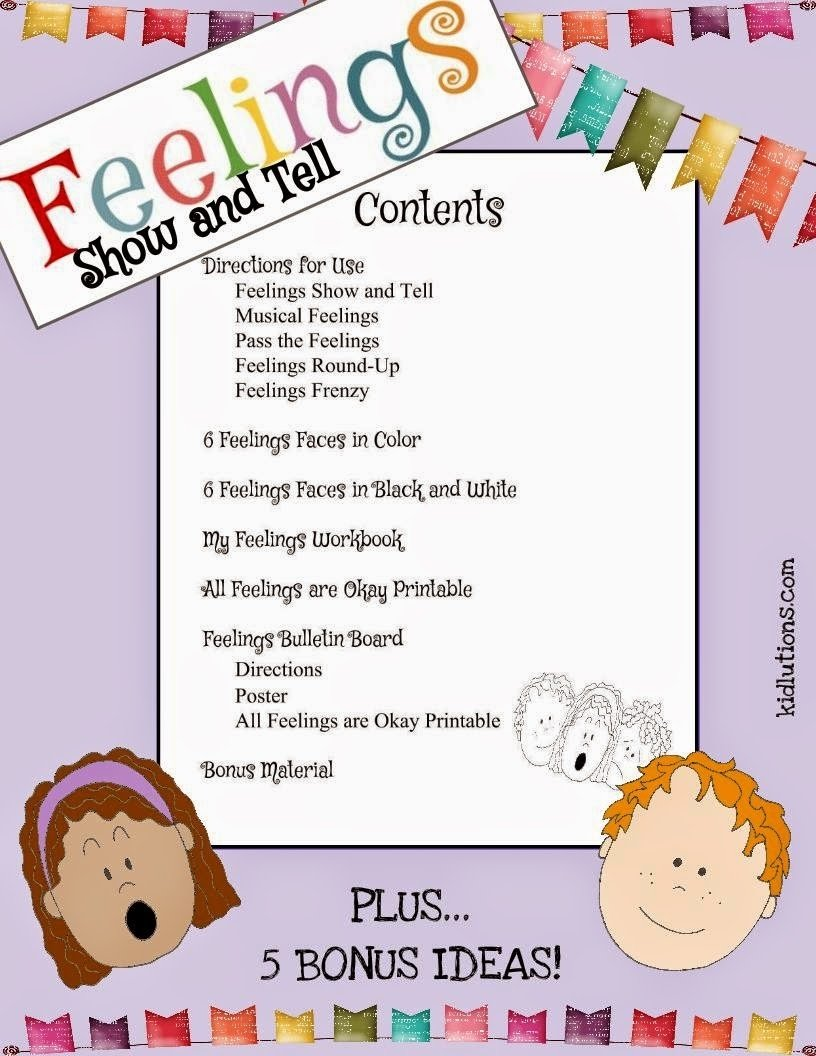 10 Amazing Show And Tell Ideas For Kids feelings show and tell 3 2020