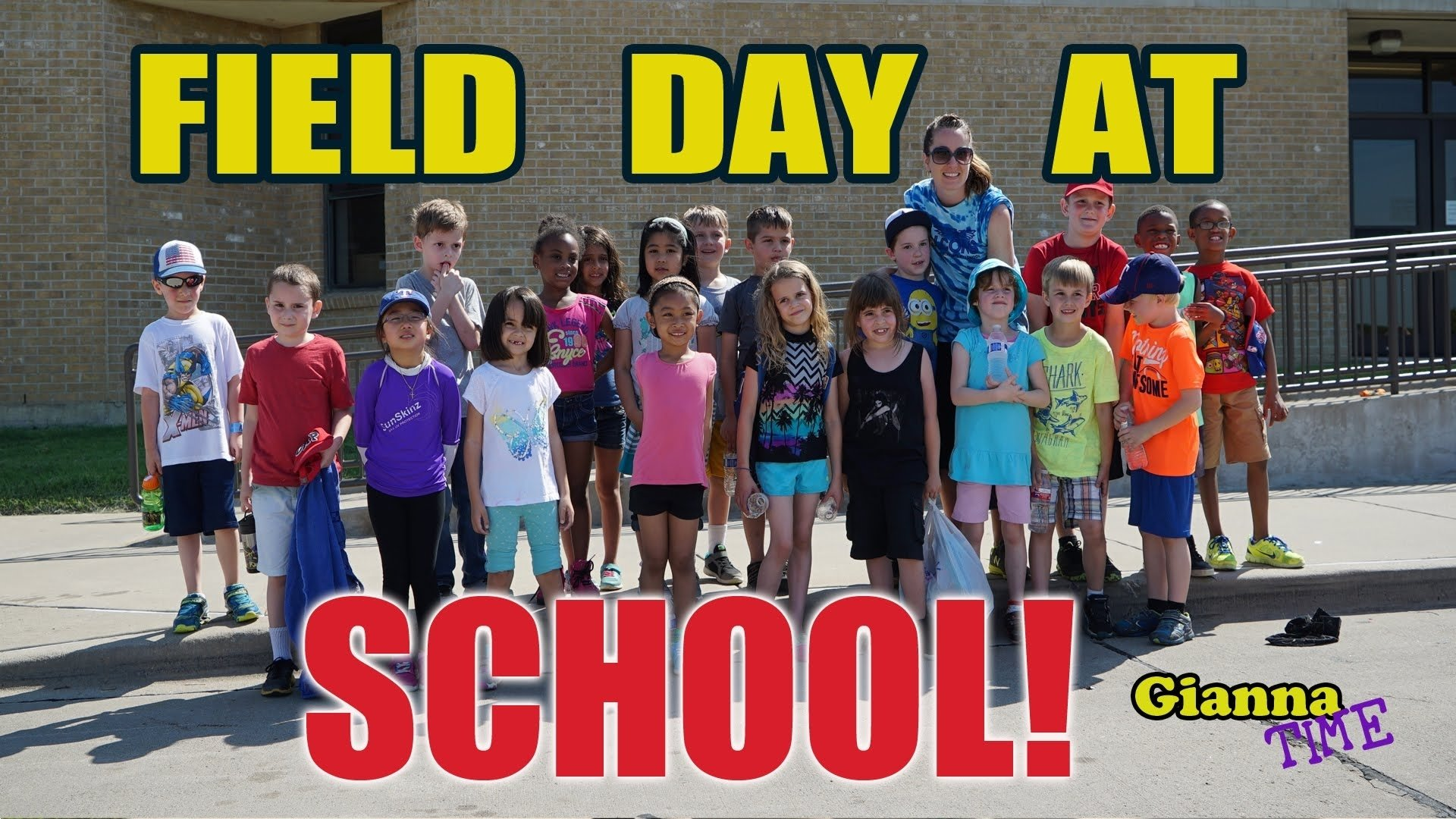 10 Stylish Elementary School Field Day Ideas field day at school with fun outdoor games for kids and tug a war 2021