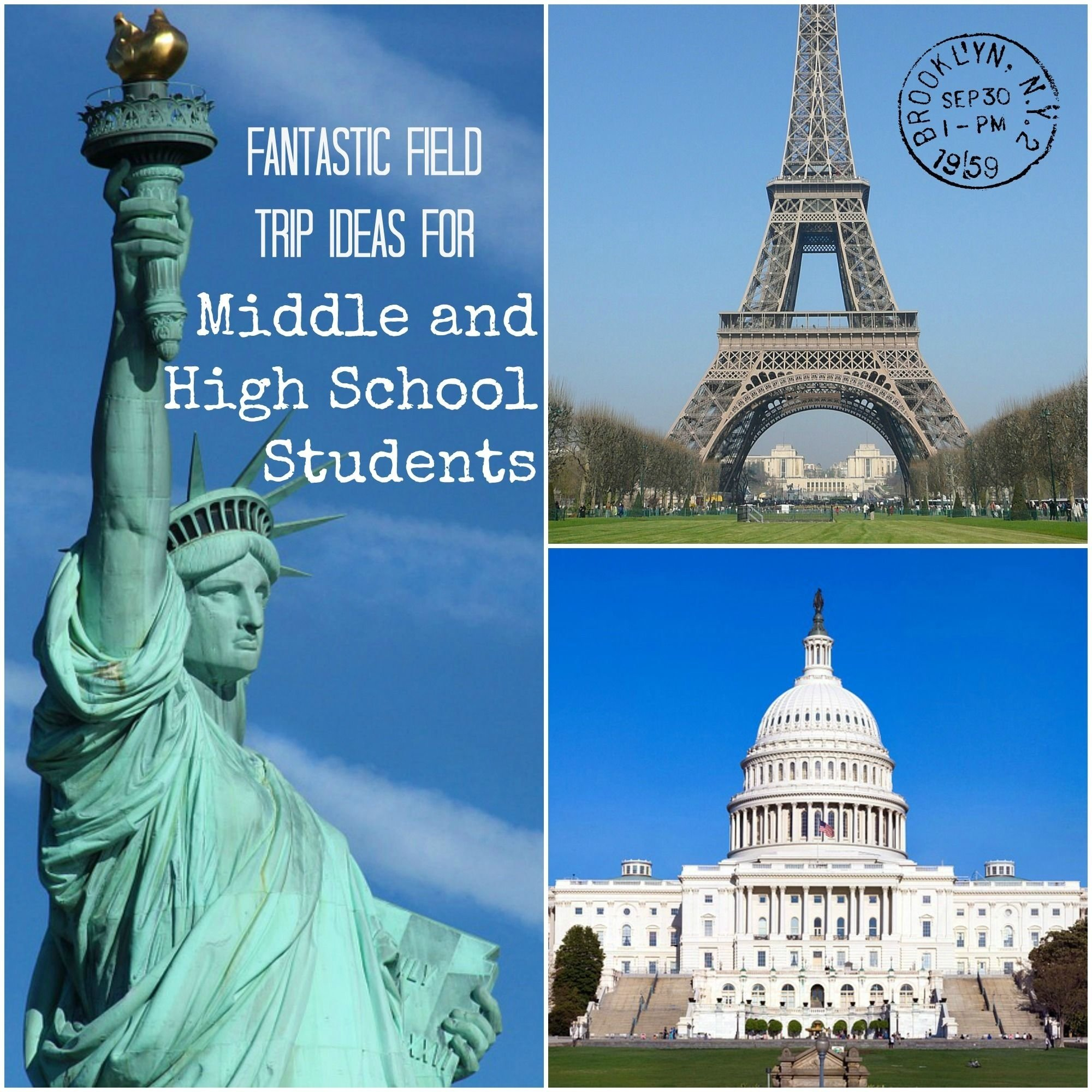 field trip ideas for middle and high school students | field trips