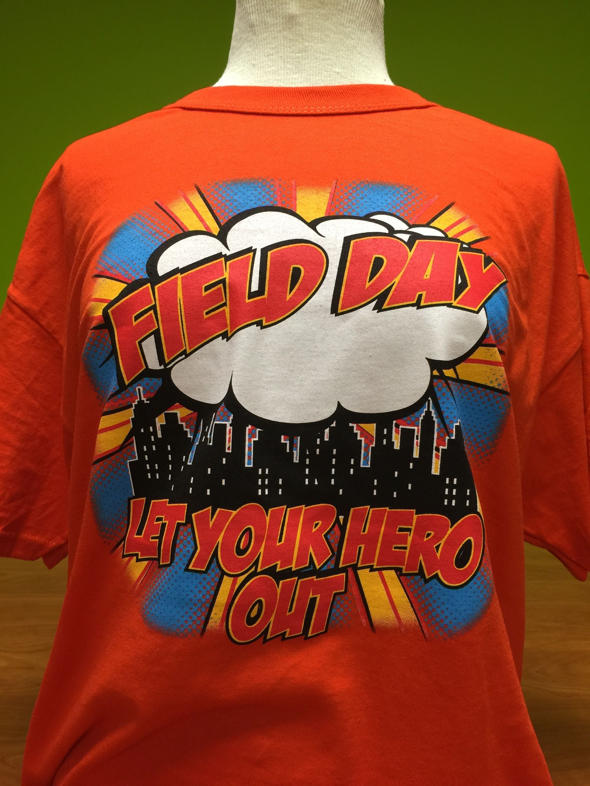 10 Stylish Elementary School Field Day Ideas fielddayusa super hero themed field day field day t shirts 2020