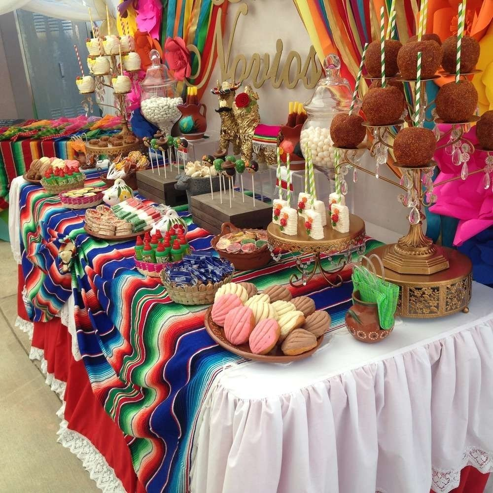 10 Attractive Mexican Party Ideas For Adults fiesta mexican bridal wedding shower party ideas shower party 2021