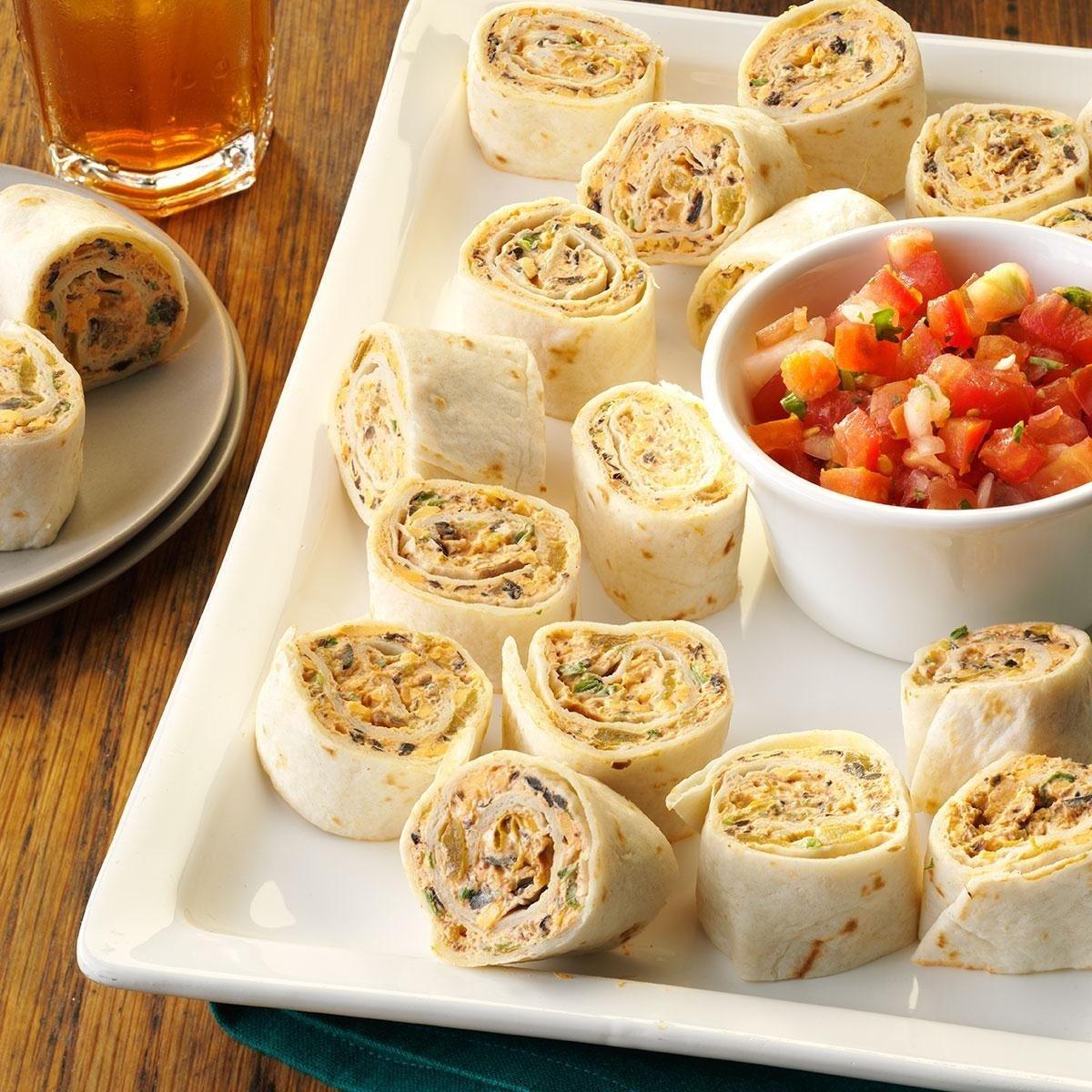 10 Elegant Ideas For Graduation Party Food fiesta pinwheels recipe taste of home 1 2021