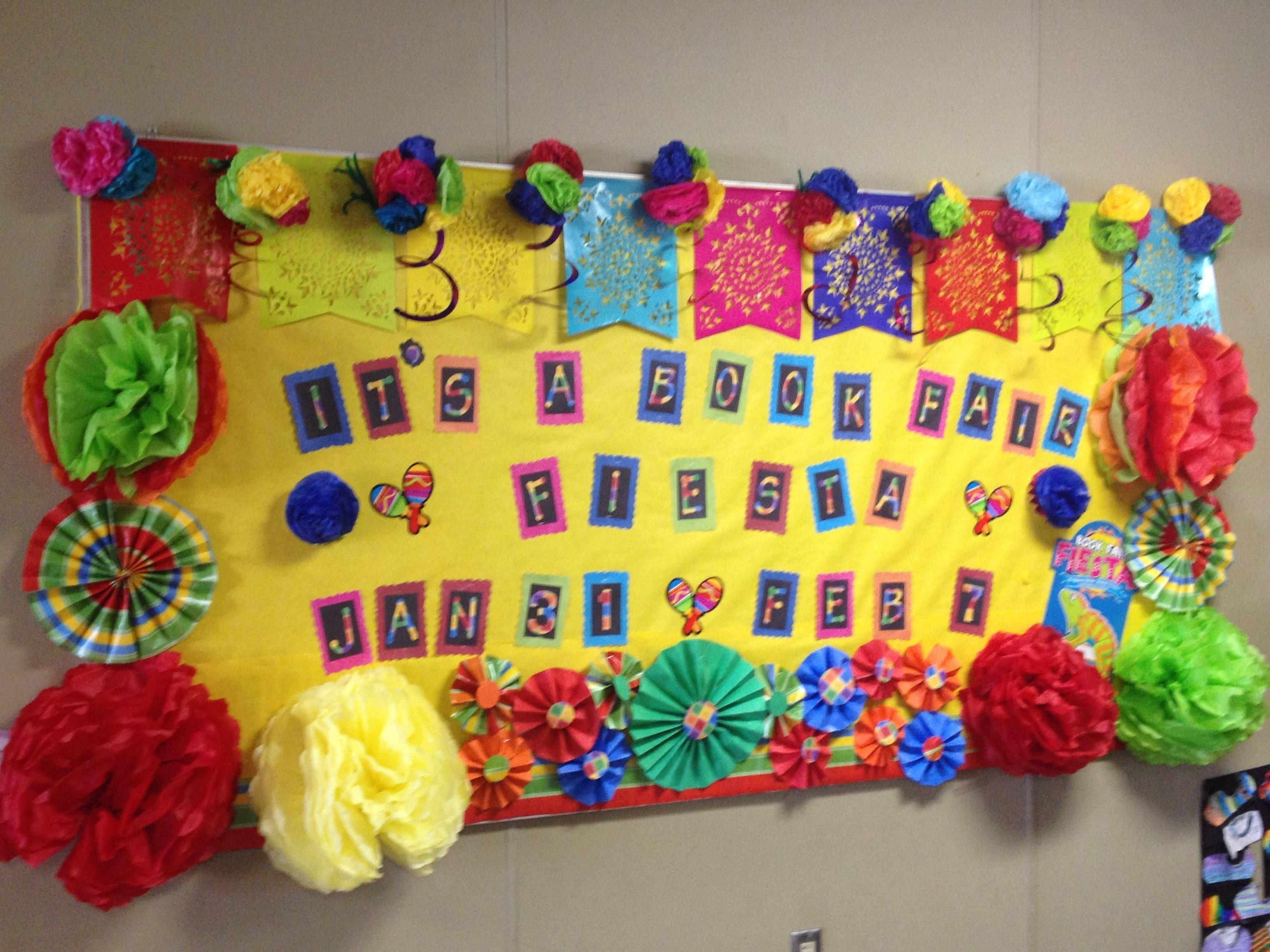 10 Fabulous Cinco De Mayo Bulletin Board Ideas fiesta themed bulletin board bulletin boards pinterest 2020