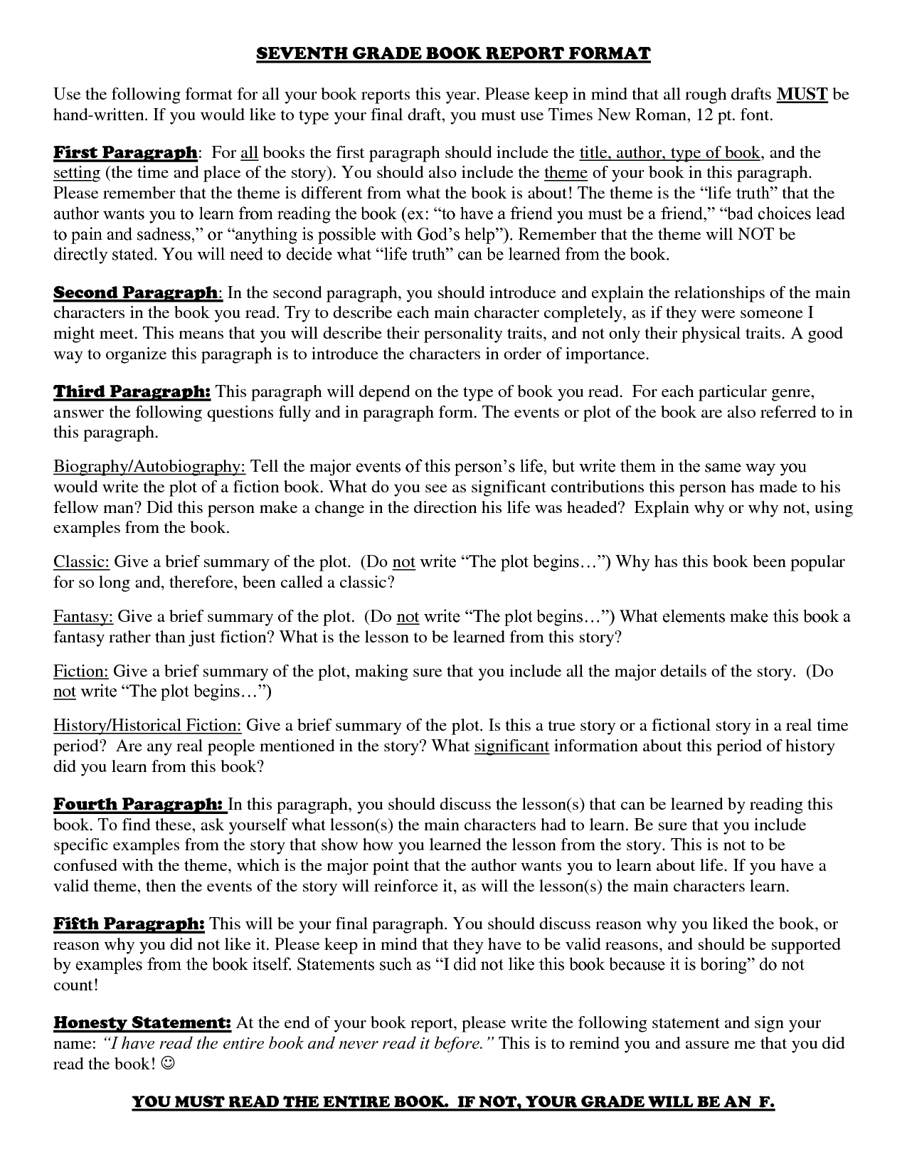 10 Elegant Book Report Ideas For 5Th Grade fifth grade biography book report homeshealth 1 2020